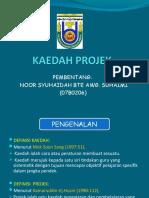 KAEDAH PROJEK