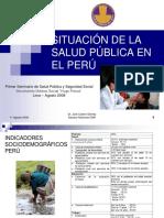 Situación de La Salud Pública en el Perú