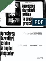 Dezvoltarea Psihica Copil Prescolar - Carte Scanata
