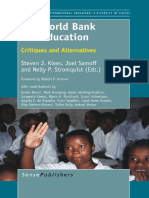 The World Bank and Education