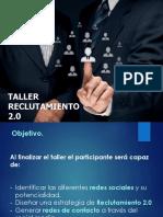 1.Taller de Reclutamiento 2.0 Presentación.