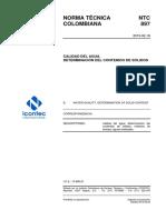 Ntc897 Solidos Gua Resumen