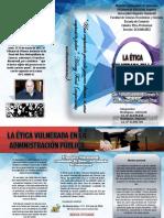 Triptico Admon.publica Etica