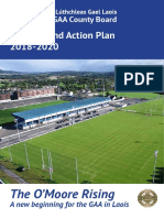 Laois Gaa Strategy and Action Plan 2018-2020