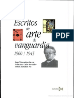 Escritos de Arte de Vanguardia, 1900:1945