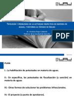 2 ROJAS. Potestades de Inspección y Reforma en Derecho de Aguas. 13122017