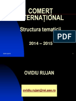 0 Continut Disciplina 2015