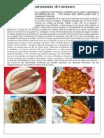 Gastronomia de Catemaco