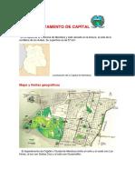 Departamento de Capital de Mendoza, Argentina