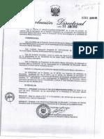 RD-0562-2010 Evaluacion de Aprendizajes