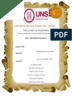 Informe de Albañileria II Unidad 2017