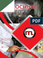 Brouchure Mtl Geotecnia