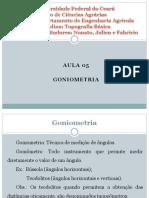 Aula 5 - Goniometria.pdf
