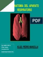 2 P. Mancilla - Anatomía Toracica Aplicada