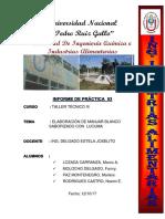 Informe 03 de Taller Tecnico III.