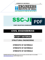 SSC JE Mechanical Study Material Strength of Materials