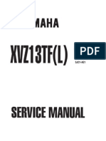 Yamaha XVZ1300 TF(L) Royal Star 99 Service Manual ENG by Mosue