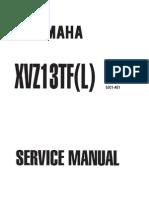 Yamaha XVZ1300 TF(L) Royal Star 99 Service Manual ENG by Mosue