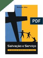 Livro Salva__o e Servi_o - Autor Malcolm Allen