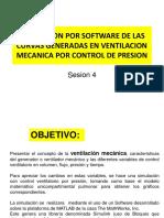 Simulacion Por Software de Las Curvas Generadas En