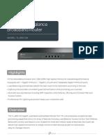 TL-ER5120(UN) V3 Datasheet