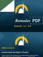 Ramadan Episode No 24
