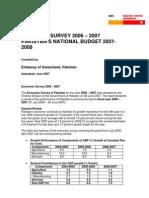 Wb Budgetbericht-pakistan07-08 Vog 070710