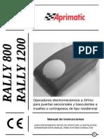 Motor Rallye 800-1200