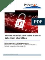 1410 Hp Informe Mundial 2014 Sobre El Costo Del Crimen Cibernetico