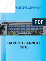 DRC Central Bank Annual Report 2016