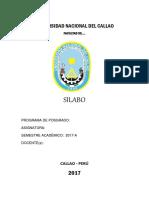 Modelo Silabo Posgrado UNAC