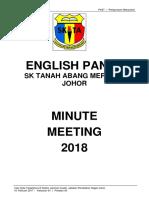 Minute Meeting 1