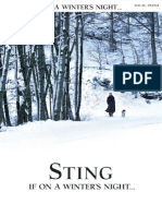 STING if on a Winter Night Songbook