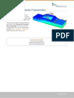 Tutorial 03 Transient Dam