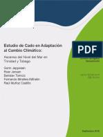 Estudio de Caso en Adaptacion Al Cambio Climatico Ascenso Del Nivel Del Mar en Trinidad y Tobago