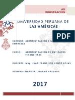 Trabajo de Investigacion - Administracion de Entidades Financieras.doc