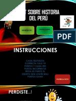 Test Sobre Historia Del Perú