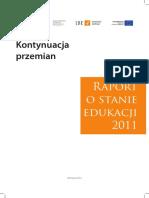 Raport o stanie edukacji