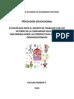Apunte Psicologia Educacional II