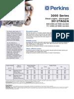 3000 SeriesDiesel Engine - ElectropaK3012TAG2A