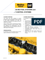 3126 MUI Fuel Systems C7 Control Systems