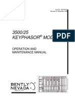 3500 25 Keyphasor Module Operations and Maintenance Manual 1