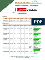 Destockage PC i7 Decembre 2017 N