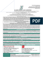 Prakash Steelage Limited û Red Herring Prospectus