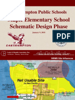 Jan 09 2018 Easthampton School Design Update