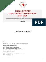 AFRIKA KOMMT AK7(2018)