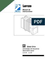 Instrucciones de Uso 8200 Vector