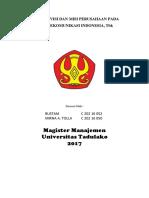 Analisis Visi Dan Misi Perusahaan Pada Pt Telekomunikasi Indonesia