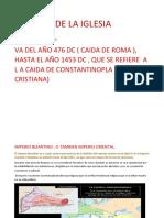 Historia de La Iglesia Medieval Frizo