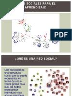 REDES SOCIALES PARA EL APRENDIZAJE